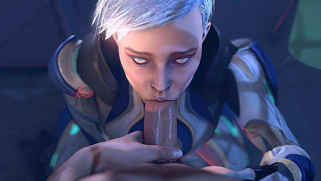 Mortal Kombat 11 – Frost Blowjob – rule34