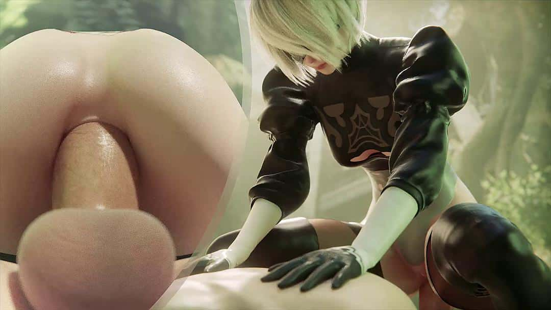2B Anal (Multi-View With Music)