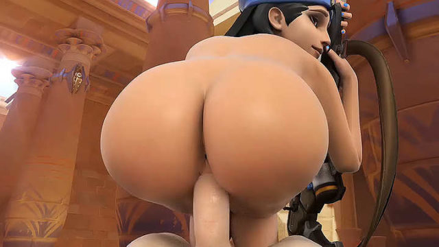 Ana loves riding dick between games GIF – sfm xxx
