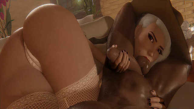 Ashe Blowjob big black cock – rule34