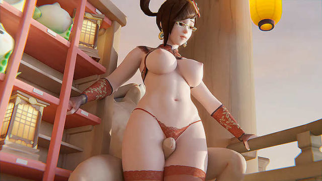 Chinese Mei thigh job