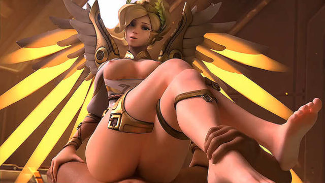 mercy winged victory (pose 2)