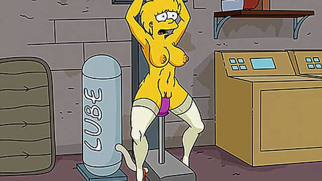 Adult Lisa Simpson and sex machine – simpson porn
