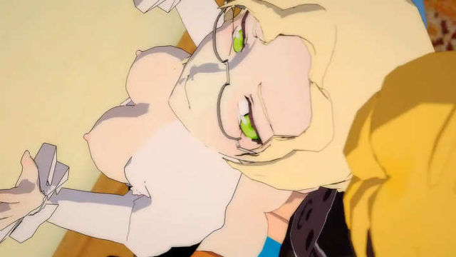 Jaune x Glynda bad girl fucked doggystyle – hentai